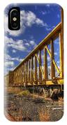Portsmouth Rail Cars IPhone Case