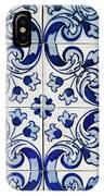 Portuguese Azulejo IPhone Case
