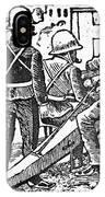 Posada: The Artillerymen IPhone Case