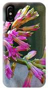 Posteredged Flowers IPhone Case