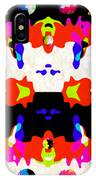 Postive And Negative Space IPhone Case