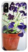 Pot Of Flowers One IPhone Case