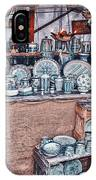 Pottery Market IPhone Case