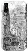 Prague: Jewish City Hall IPhone Case