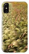 Prairie Crop With Weeds IPhone Case