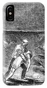 Prairie Fire, 1844 IPhone Case