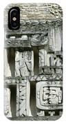Pre-columbian Stone Ruin With Relief IPhone Case