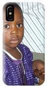 Precious Nigerian Boy IPhone Case