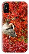 Preening IPhone Case