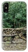 Prehistoric Cat, Artwork IPhone Case