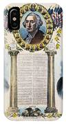 Presidential Campaign, 1892 IPhone Case