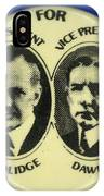 Presidential Campaign, 1924 IPhone Case