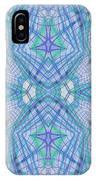 Pretty Blue IPhone Case