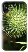 Prickly Globe IPhone Case