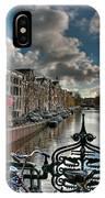 Prinsengracht And Leidsestraat. Amsterdam IPhone Case