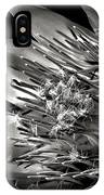 Protea In Black And White IPhone Case