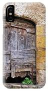 Provence Window And Wall Painting IPhone Case