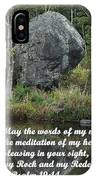 Psalm 19 V14a IPhone Case
