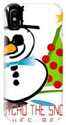 Psycho The Snowman IPhone Case