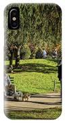 Public Garden 11 IPhone Case