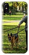 The Dog Walker IPhone Case