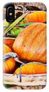 Pumpkin And Corn Combo IPhone Case