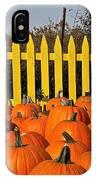 Pumpkin Corral IPhone Case