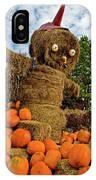 Pumpkin King IPhone Case