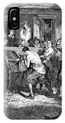Puritans And Quakers, 1677 IPhone Case