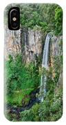 Purlingbrook Falls In Australia IPhone Case