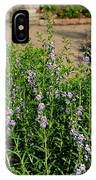 Purple And White Pinwheels IPhone Case