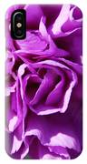 Purple Carnation IPhone Case