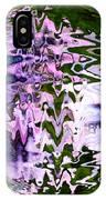 Purple Daisies World - Abstract Art IPhone Case