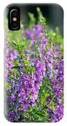 Purple English Garden  IPhone Case