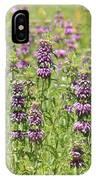 Purple Flower Field IPhone Case
