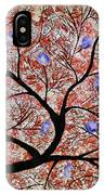Purple Flowered Tree IPhone Case