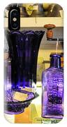 Purple Glass Collection IPhone Case