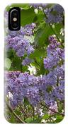 Purple Lilacs IPhone Case