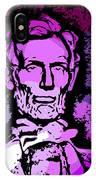 Purple Lincoln IPhone Case
