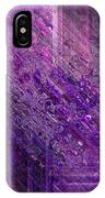 Purple Mystique IPhone Case