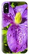 Purple Rain IPhone X Case