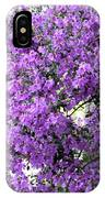 Purple Screen Square IPhone Case