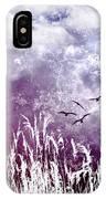 Purple Skies IPhone Case
