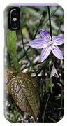 Purple Spring Trail Flower IPhone Case