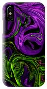 Purple Transformation IPhone Case