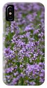 Purple Wildflowers Square IPhone Case