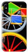 Pythagorean Machine Portrait 7 IPhone Case