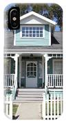 Quaint House Architecture - Benicia California - 5d18817 IPhone Case