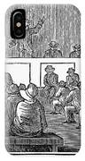 Quaker Worship, 1842 IPhone Case