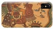 Quetzalcoatl, Aztec Feathered Serpent IPhone Case